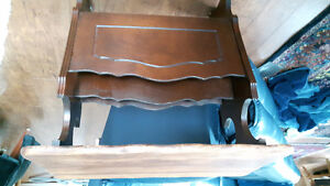 Wooden table  magazine rack REDUCED