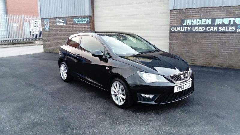 2013 seat ibiza 1 6tdi fr cr sport coupe 3 door sat nav cruise bluetooth in stoke on trent - Seat ibiza sport coupe fr ...