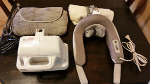 Back, Neck Massager, Thumper, Moist Heating Pad