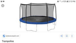 Trampoline Wanted: i am looking  broken or old  8 foot