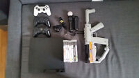 Playstation 3 console, Playstation Move, 5 games