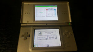 Used Nintendo DS Lite With Stylus, Charger and Game