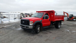 2009 Ford F-450 6 ROUES A BENNE BASCULANTE