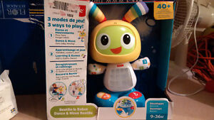 Fisher Price Beat-Bo Lights & Sounds Robot Age Age 1-3  NEW $20