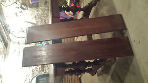 Dining Room Table with 6 Chairs and 2 inserts London Ontario image 2