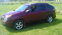 2003 Pontiac Aztek GT 4D Utility AWD ,needs engine