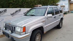 1994 Jeep Grand Cherokee Limited 5.2lt