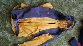 North face jackets, Men and womens. Several! Helly Hanson too