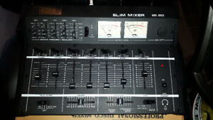 Mixer slimline series MX-850