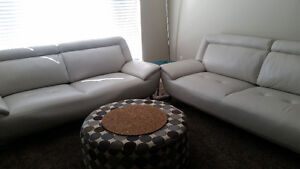 *Almost Brand New* Selling two sofas with 5 year warranty