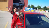 IN-CAR DRIVING TRAINING FOR WATERLOO REGION