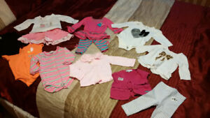 Baby Girl Size 6-9 Clothes