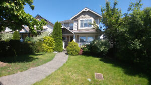 4 bedr+den house W/basement for rent 40min drive from Vancouver