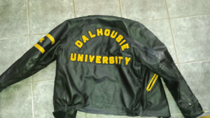 Dalhousie University Leather Jacket.