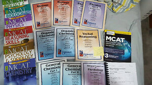 Full set of MCAT 2015 books