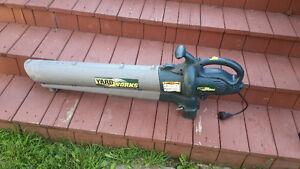 Souffleur à feuilles et gazon Yard Works ( électrique )