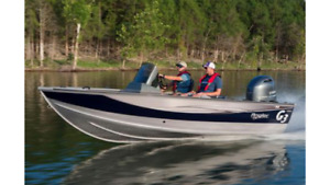 Wanted 16-17' g3 aluminum boat with console