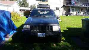 Lifted 1998 Jeep Grand Cherokee LTD