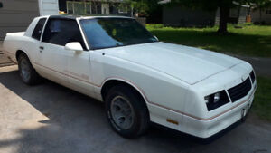 1986 Monte Carlo SS for sale or trade.