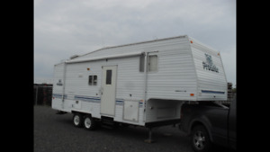 Roulotte Fifth wheel 2001 26pieds