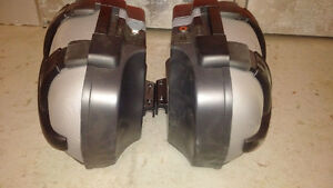 Original BMW motorcycle F800ST hard cases panniers saddle bags