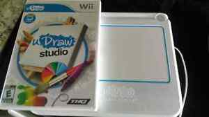 Wii Draw Game Tablet and Game