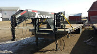 2014 tex line goose neck 35' 2-10.000lbs axles bever tail