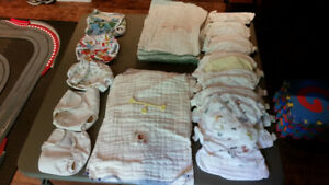 Mother-Ease Cloth Diapers -prefolds, wraps, swim diapers+