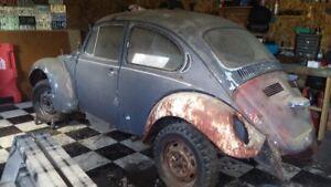 1972 Super Beetle for parts