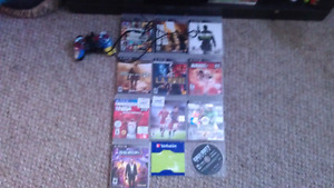 PS3  500 gb console & 12 games