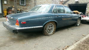 Jaguar xj6. Partd car.  Heading to scap need anything!?!?