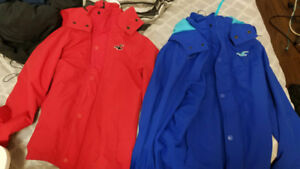 Hollister and Bench Jackets