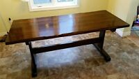 Harvest/dining Table