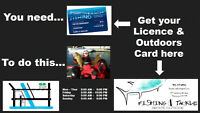Fishing?  Get Your Licence at Bronte Outdoor Fishing & Tackle