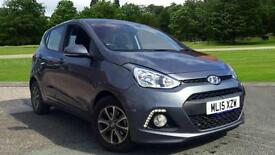 2015 Hyundai i10 1.2 Premium 5dr Manual Petrol Hatchback