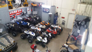 Kids ATVs / Quads starting $599.99! Give us a call 289.539.0273
