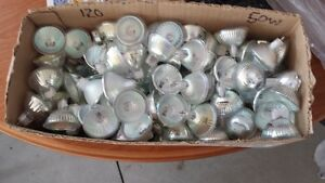 12V HALOGEN BULBS 50W,35W AND 20W