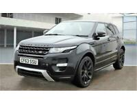2013 Land Rover Range Rover Evoque 2.2 SD4 Dynamic Lux AWD 5dr SUV Diesel Automa