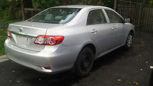 Selling 2013 Toyota Corolla Sedan As Is
