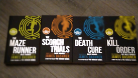REDUCED Maze runner book set 4 books