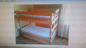 Bunkers End ladder bunk bed Revesby Bankstown Area Preview