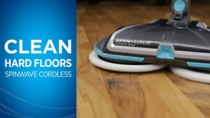 PRICE REDUCED Bissell SpinWave cordless spin mop