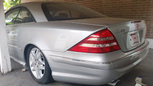 2001 Mercedes CL55 AMG