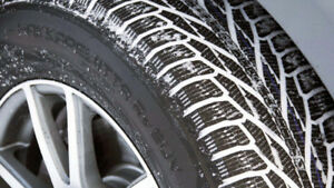 New winter tire start $60,  Tire change service$40