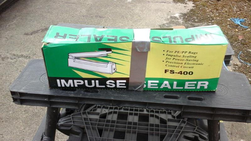400mm plastic bag impulse heat sealer for sale  Middlesbrough, North Yorkshire