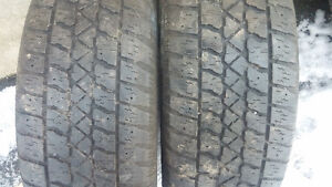 2 tires P 225 60 16 Cornwall Ontario image 1