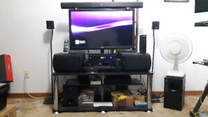 Bose Acoustimass 3 Series V speaker system with stands