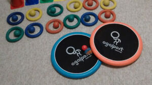 12 RUBBER RINGS with BALLS / 2 NEW OGO DISCS