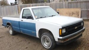93 S10 LONG WB STD CAB PERFECT DONOR 163000KM  4.3  700R4