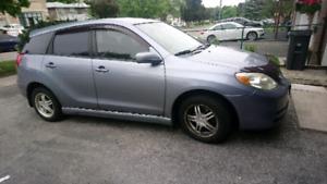 2003 Toyota Matrix Xr - ac blows cold